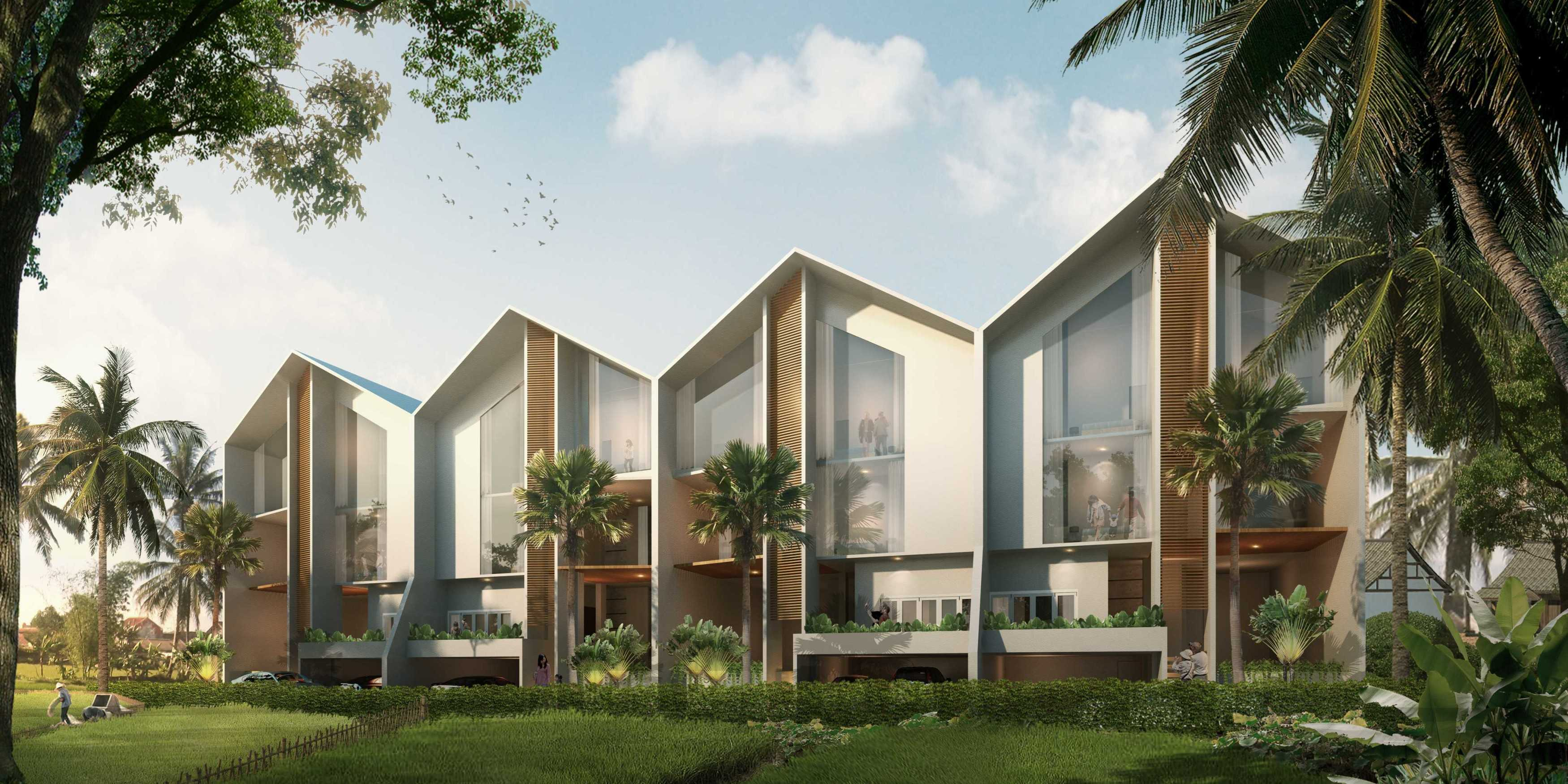 P+Us Architects Studio Omah Ijo Village Condongcatur, Depok Sub-District, Sleman Regency, Special Region Of Yogyakarta, Indonesia Yogyakarta, Indonesia Front View  <P>3D Visual 001</p> 16984