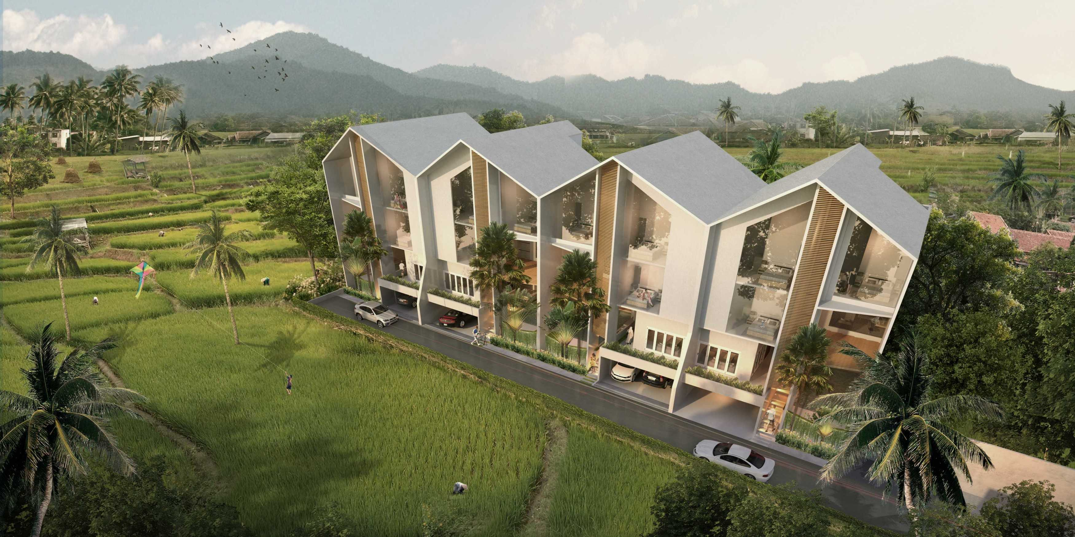 P+Us Architects Studio Omah Ijo Village Condongcatur, Depok Sub-District, Sleman Regency, Special Region Of Yogyakarta, Indonesia Yogyakarta, Indonesia Bird Eye View  <P>3D Visual 002</p> 16985