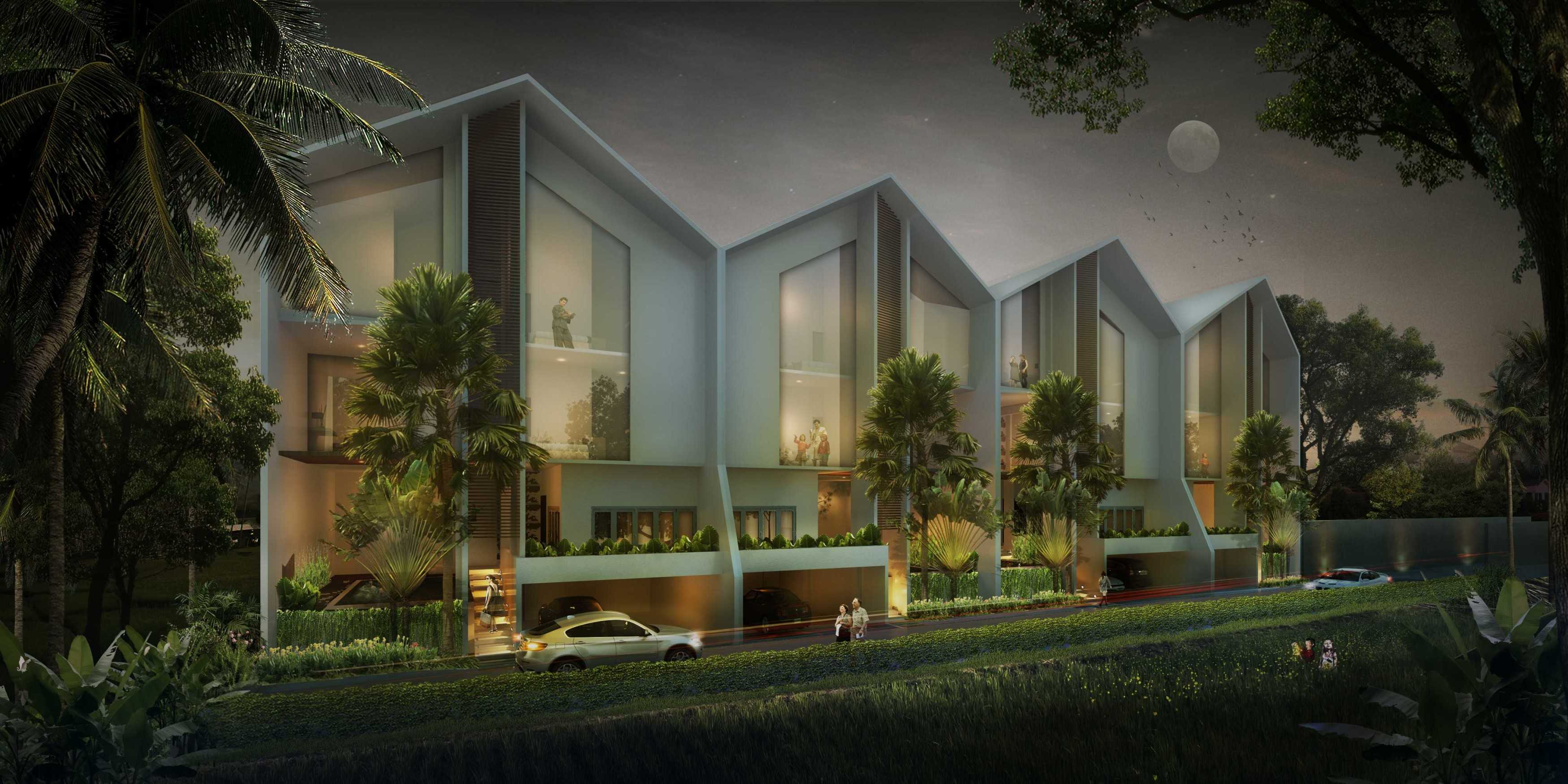 P+Us Architects Studio Omah Ijo Village Condongcatur, Depok Sub-District, Sleman Regency, Special Region Of Yogyakarta, Indonesia Yogyakarta, Indonesia Front View  <P>3D Visual 003</p> 16986