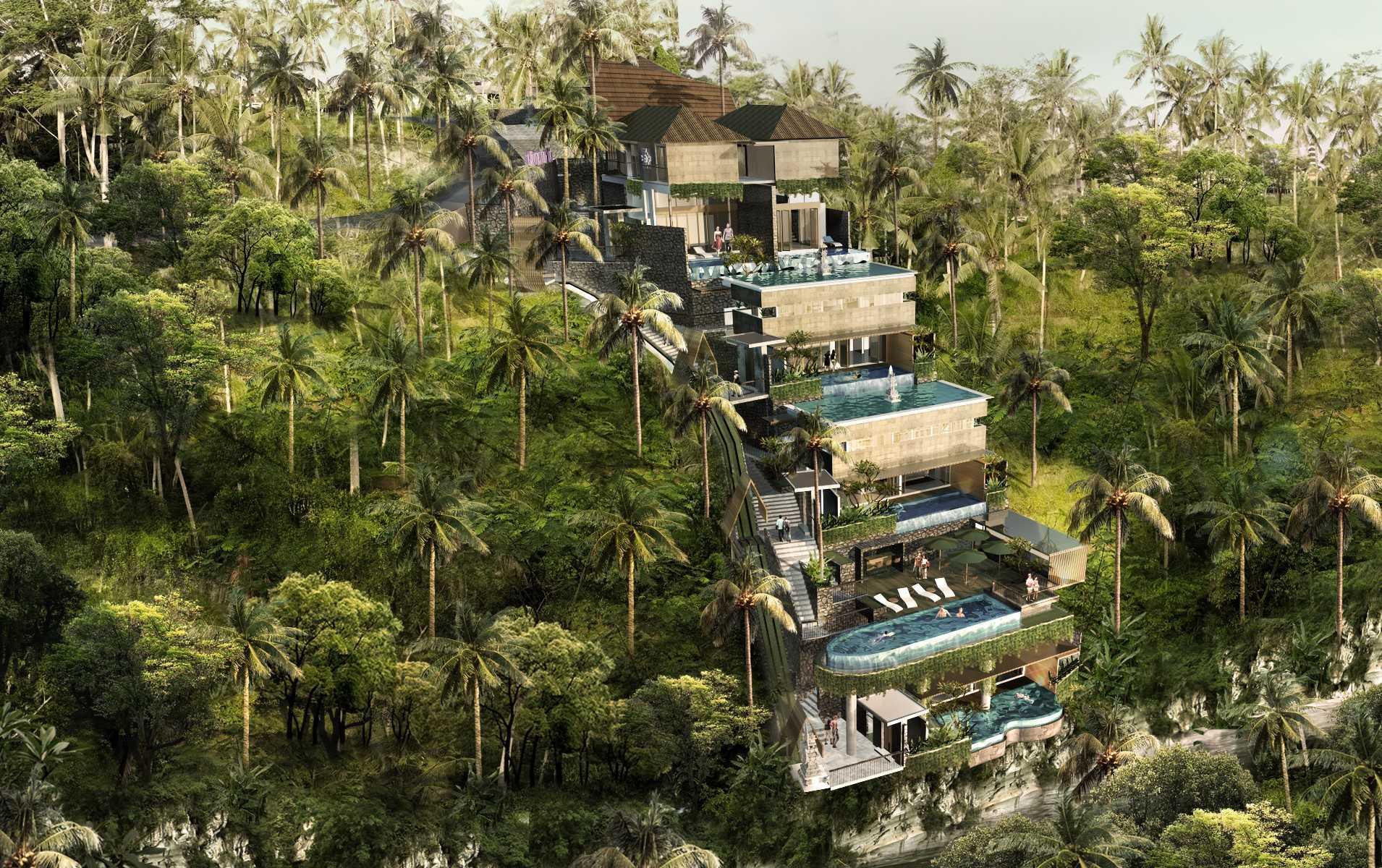 Ksad Dukuh Artvilla Ubud, Bali, Indonesia Ubud, Bali, Indonesia Bird Eye View Tropis  10225