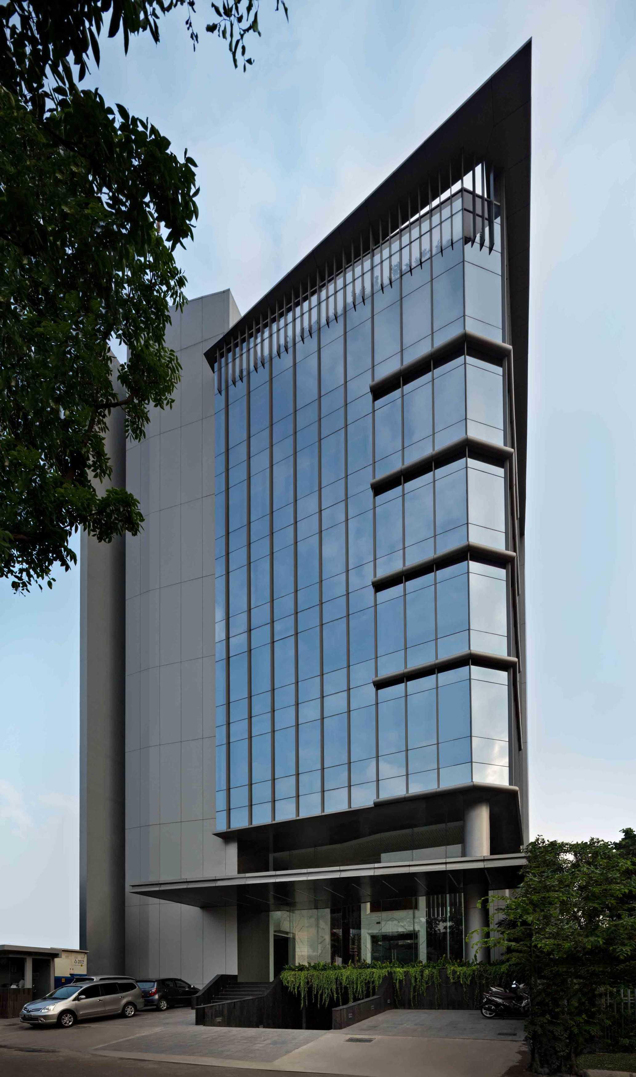 Hmparchitects Plaju Office  Jakarta, Indonesia Jakarta, Indonesia Plaju Office Front   18831
