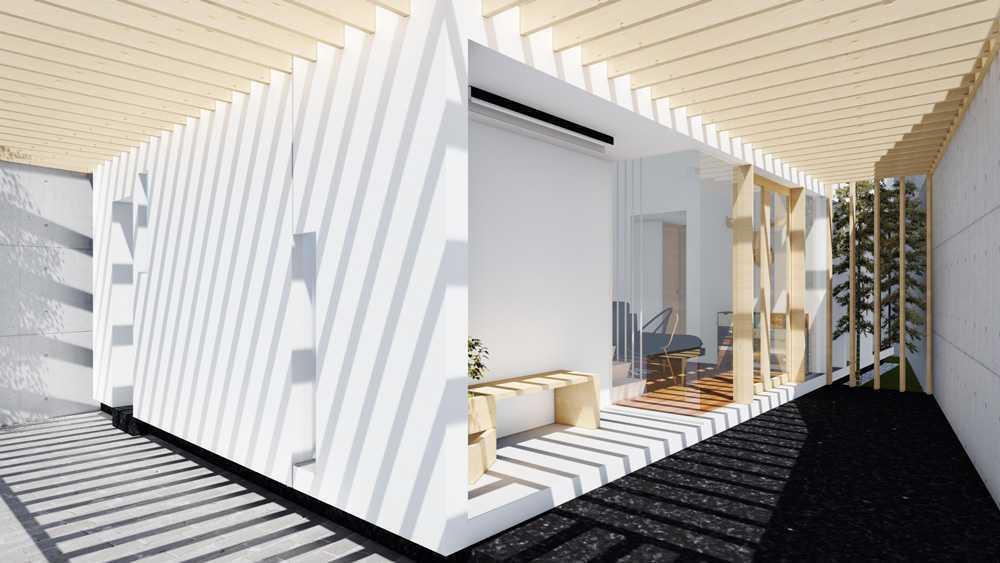 Dform Ba-House Arcamanik, Bandung, West Java, Indonesia Arcamanik, Bandung, West Java, Indonesia Terrace Modern  28781