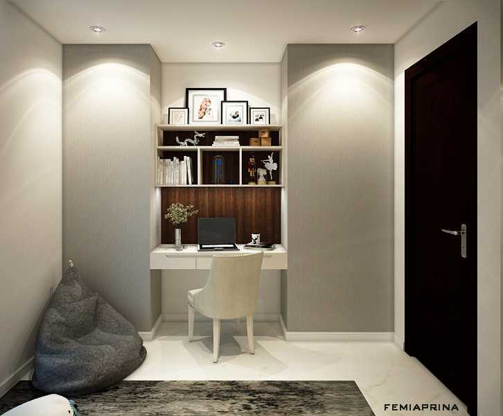 Femi Aprina A Simple Budget Apartment Jakarta Barat Jakarta Barat Study-Room Kontemporer  22199