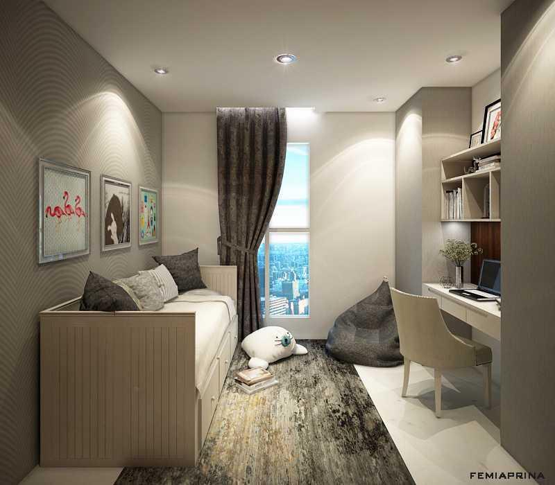 Femi Aprina A Simple Budget Apartment Jakarta Barat Jakarta Barat Study-Room Kontemporer  22200