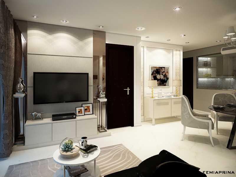 Femi Aprina A Simple Budget Apartment Jakarta Barat Jakarta Barat Living Kontemporer  22202