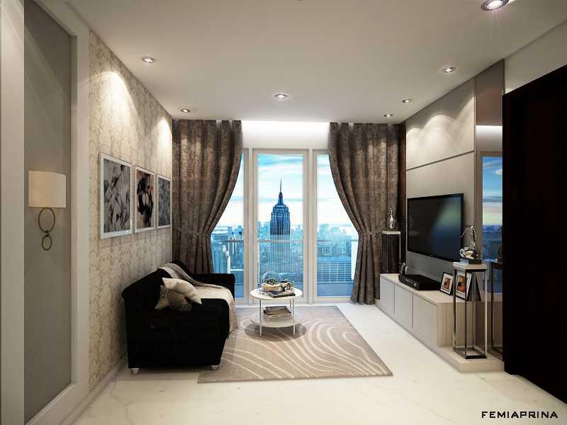 Femi Aprina A Simple Budget Apartment Jakarta Barat Jakarta Barat Living Kontemporer  22203