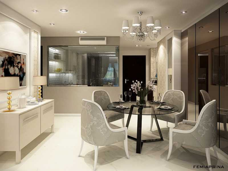 Femi Aprina A Simple Budget Apartment Jakarta Barat Jakarta Barat Dining Room Kontemporer  22205