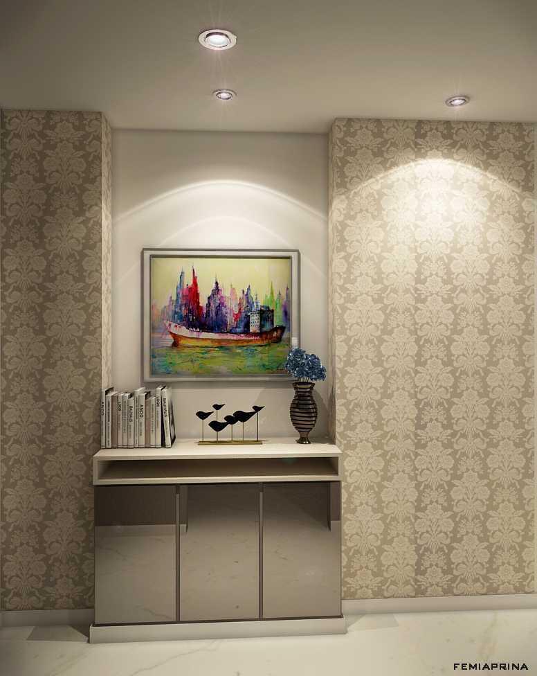 Femi Aprina A Simple Budget Apartment Jakarta Barat Jakarta Barat Living-5-Edit Kontemporer  22206
