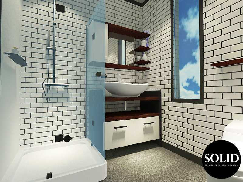 Solidinterior Industrial Style Apartment  Gallery West Apartment  Gallery West Apartment  Master-Bathroom Industrial  16349