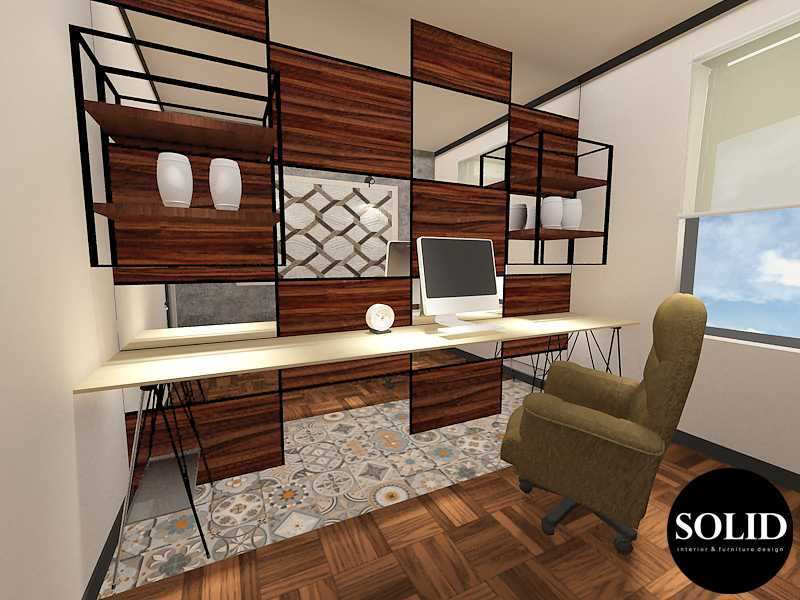 Solidinterior Industrial Style Apartment  Gallery West Apartment  Gallery West Apartment  Working-Room Industrial  16351