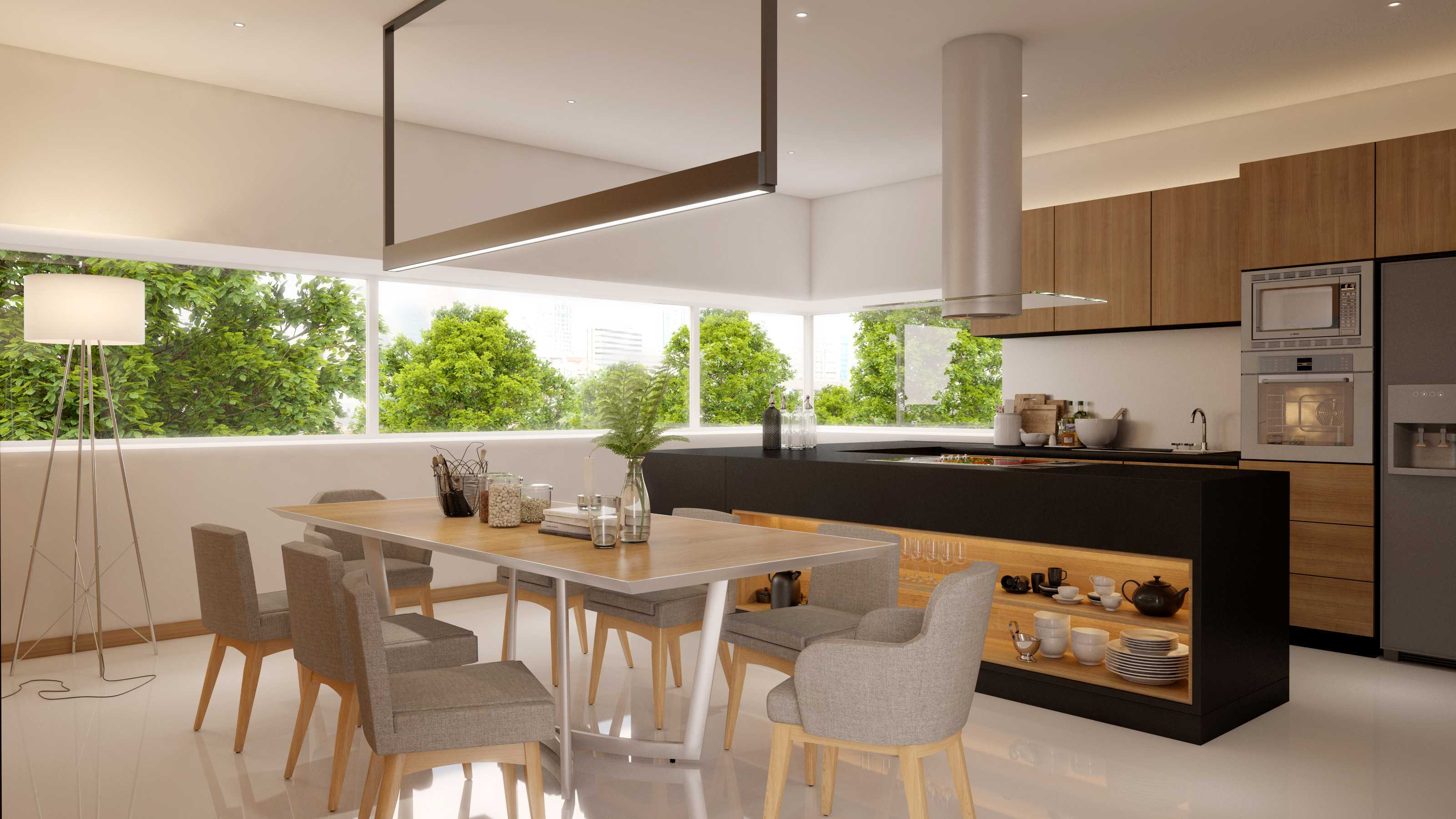 Erre Luce | Lighting+Interior W Residence Sentul City Sentul City Kitchen & Dining Room   10333