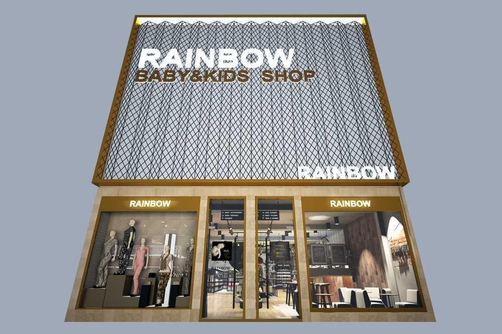 Inches Design Rainbow Baby And Kids Shop Banjarmasin Banjarmasin Front   10444