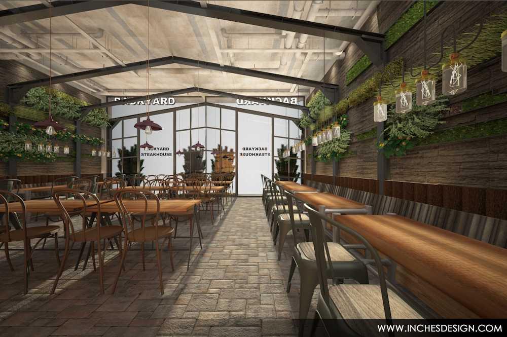 Inches Design Pepperloin Steakhouse Pik Pik Dining Area   15934