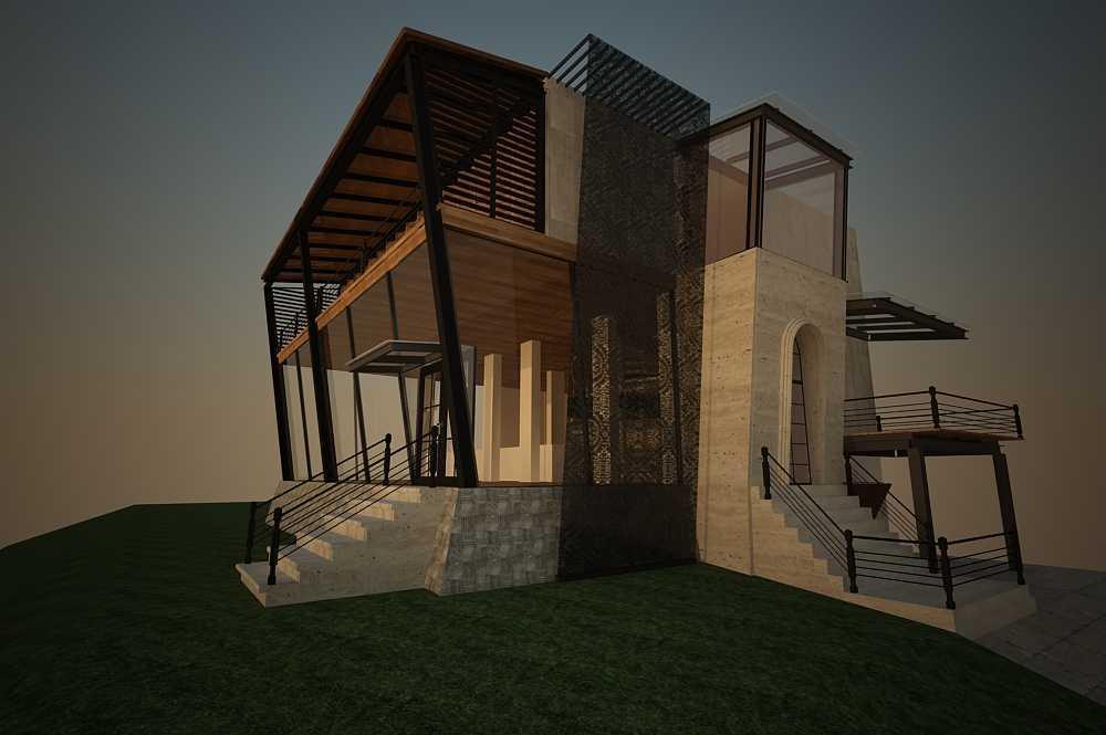 Inches Design Pik House Pantai Indah Kapuk Pantai Indah Kapuk Facade   26459