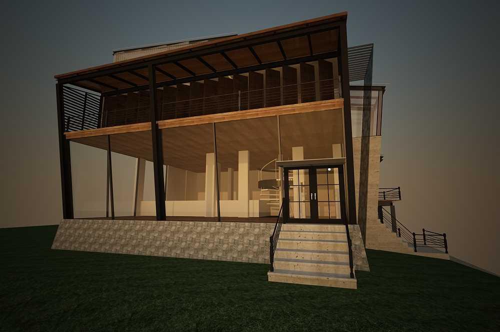 Inches Design Pik House Pantai Indah Kapuk Pantai Indah Kapuk Exterior - Facade   26460