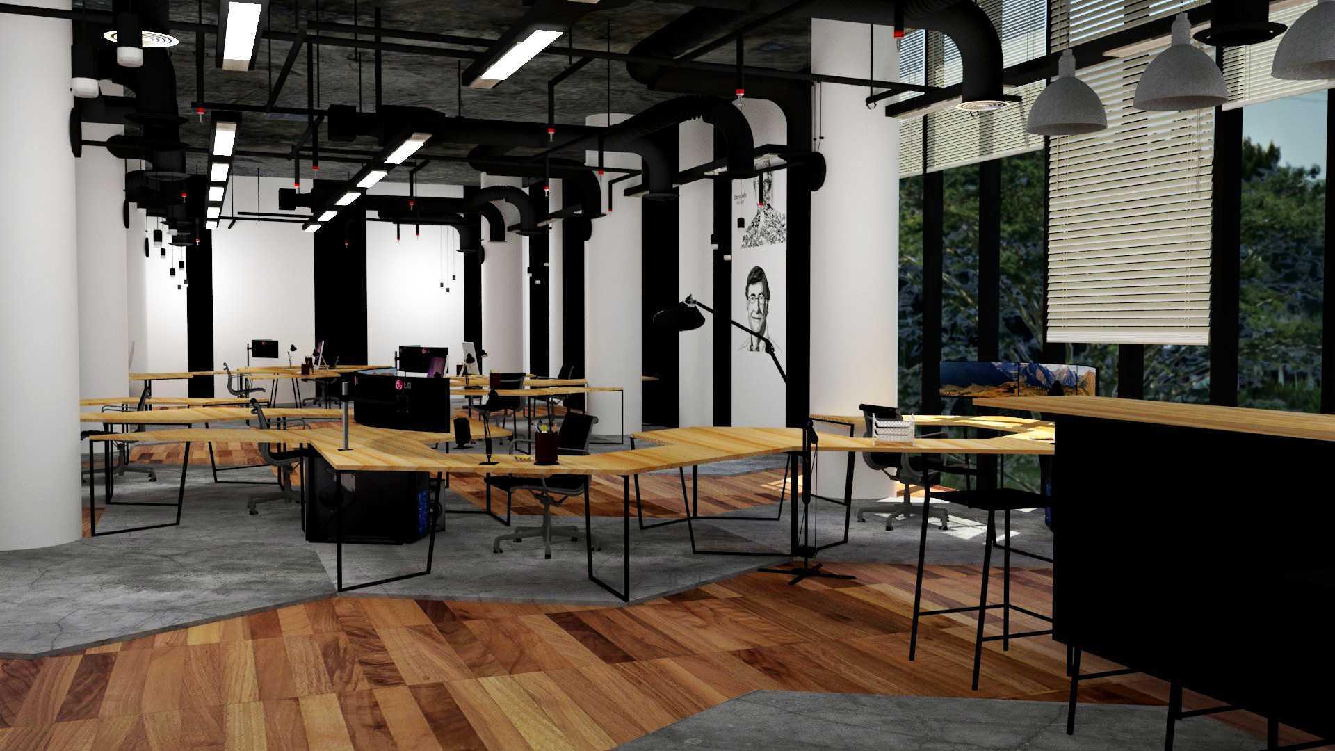 Indera Laksakusuma Interior Office Depok Depok Working Area Industrial  23057