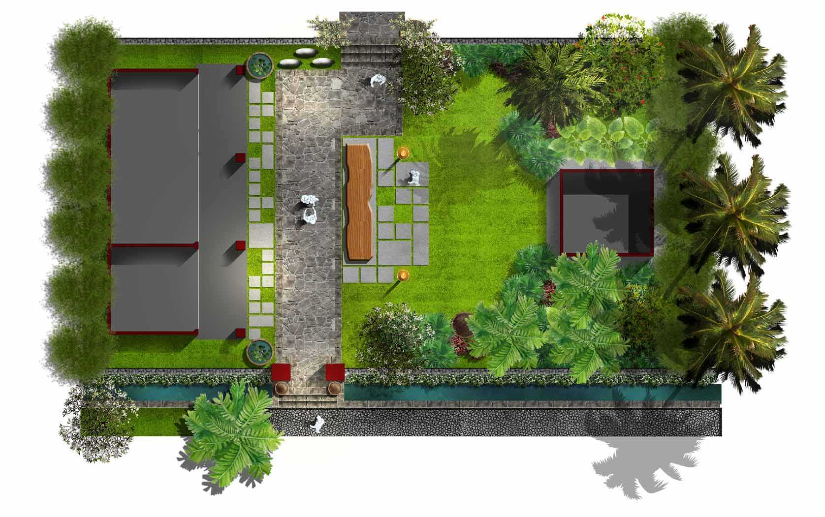 Alash.studiobali Landscape Restaurant  Bali-Indonesia Bali-Indonesia Plan   15073