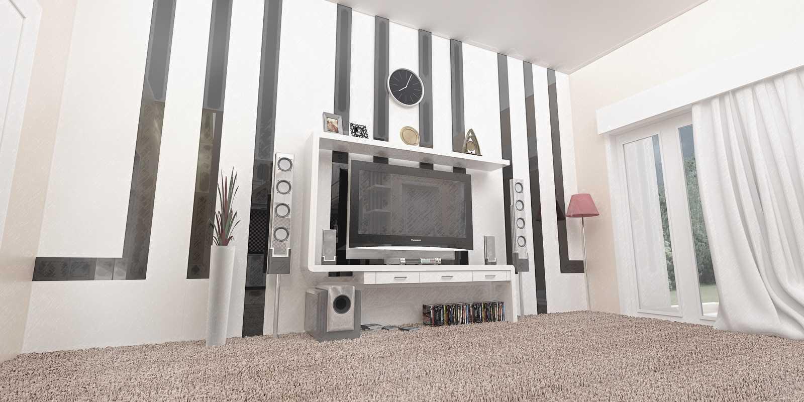Studio Besar Interior Rumah Beji Beji, Kota Depok, Jawa Barat, Indonesia Depok, Jawa Barat Desain-Interior-Ruang-Keluarga-Rumah-Beji   43953