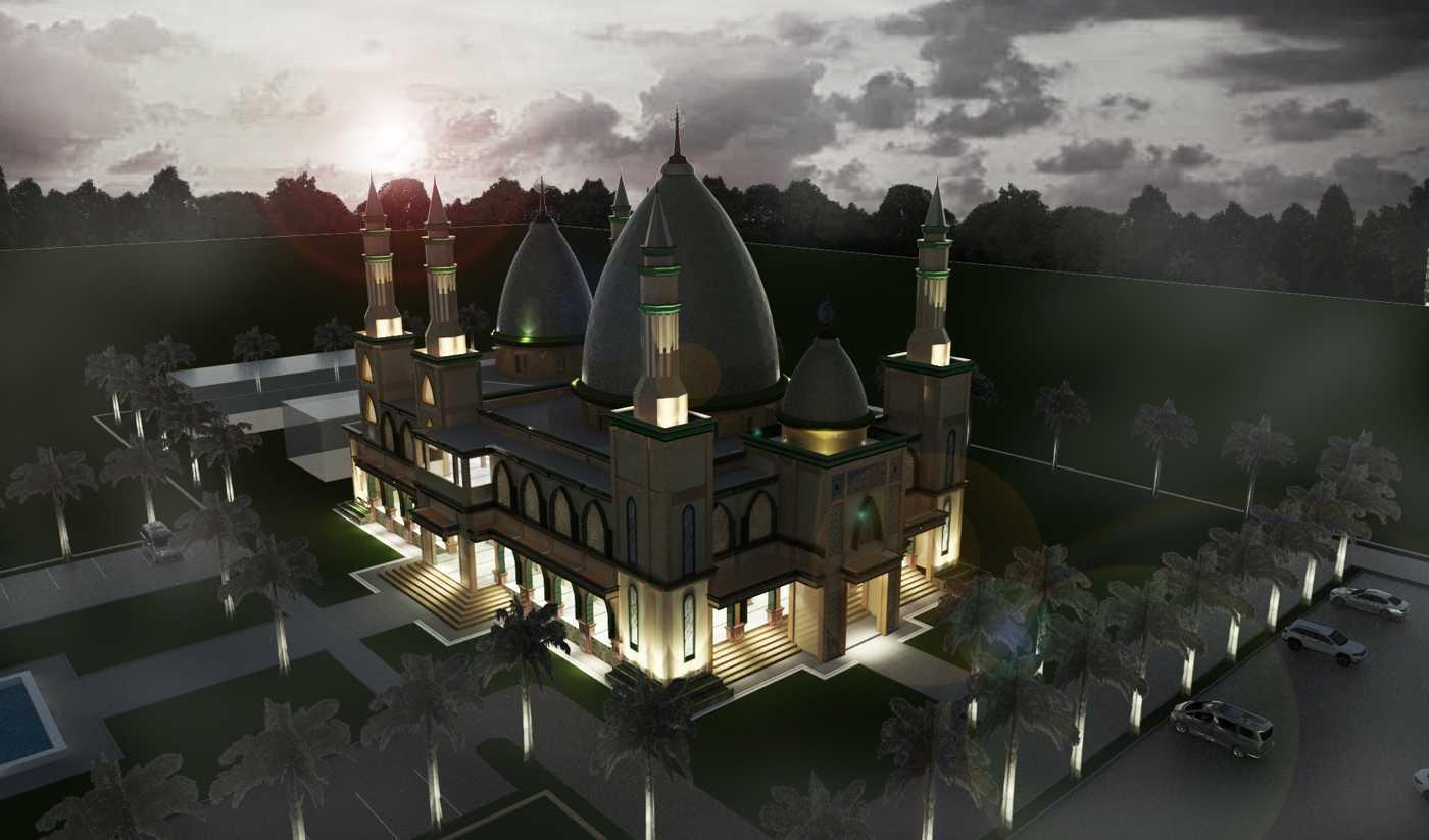 Studio Besar Masjid Raya Persatuan, Depok Cinere, Kota Depok, Jawa Barat, Indonesia Cinere, Kota Depok, Jawa Barat, Indonesia Bird Eye View Klasik  43838