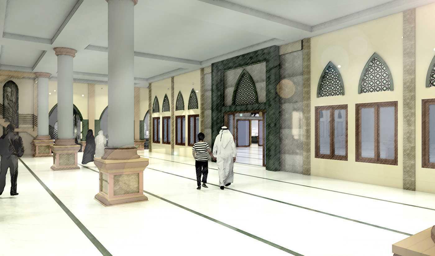 Studio Besar Masjid Raya Persatuan, Depok Cinere, Kota Depok, Jawa Barat, Indonesia Cinere, Kota Depok, Jawa Barat, Indonesia Interior View Klasik  43839