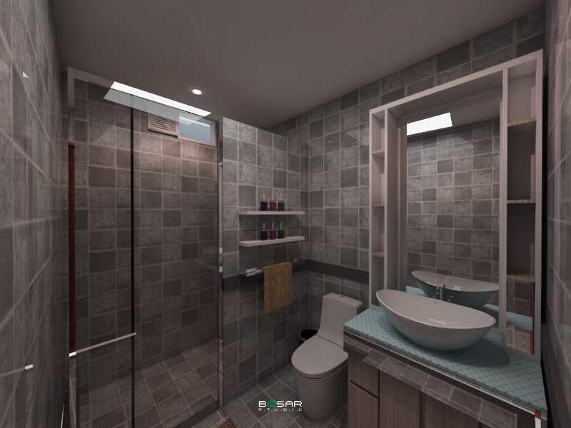 Studio Besar Jatiroke House, Bandung Jatinangor, Kabupaten Sumedang, Jawa Barat, Indonesia Jatinangor, Kabupaten Sumedang, Jawa Barat, Indonesia Bathroom Klasik  51026