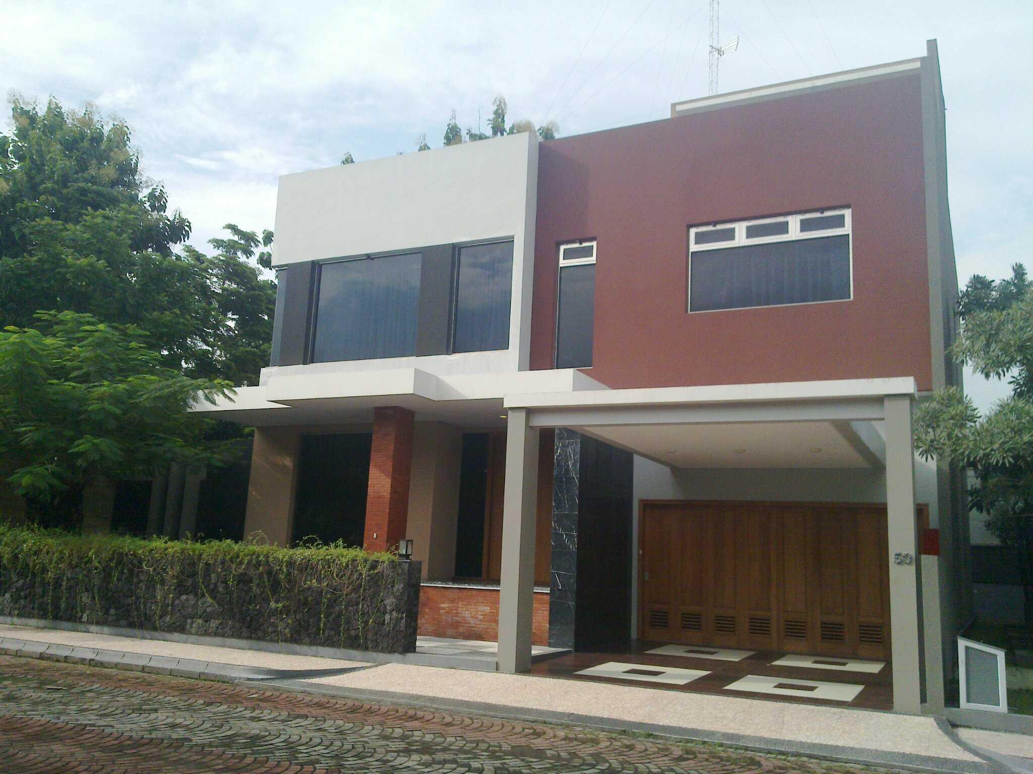 Photo Front View Rumah Kotak M 50 26 Desain Arsitek Oleh ...