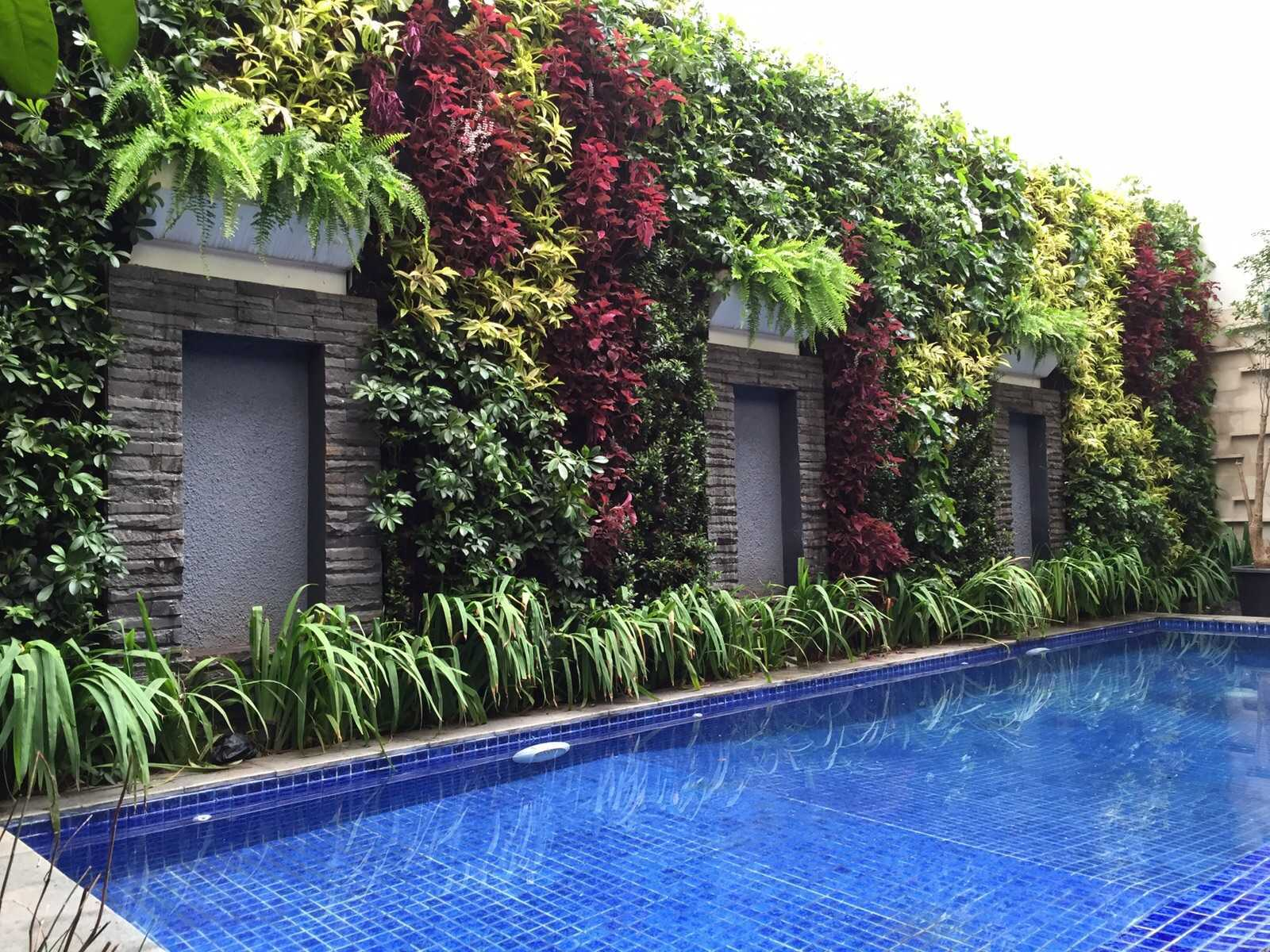 Aditya Wijaya / Studio Indirakasa Kalibata House Jakarta Jakarta Vertical Garden Tropis  15283