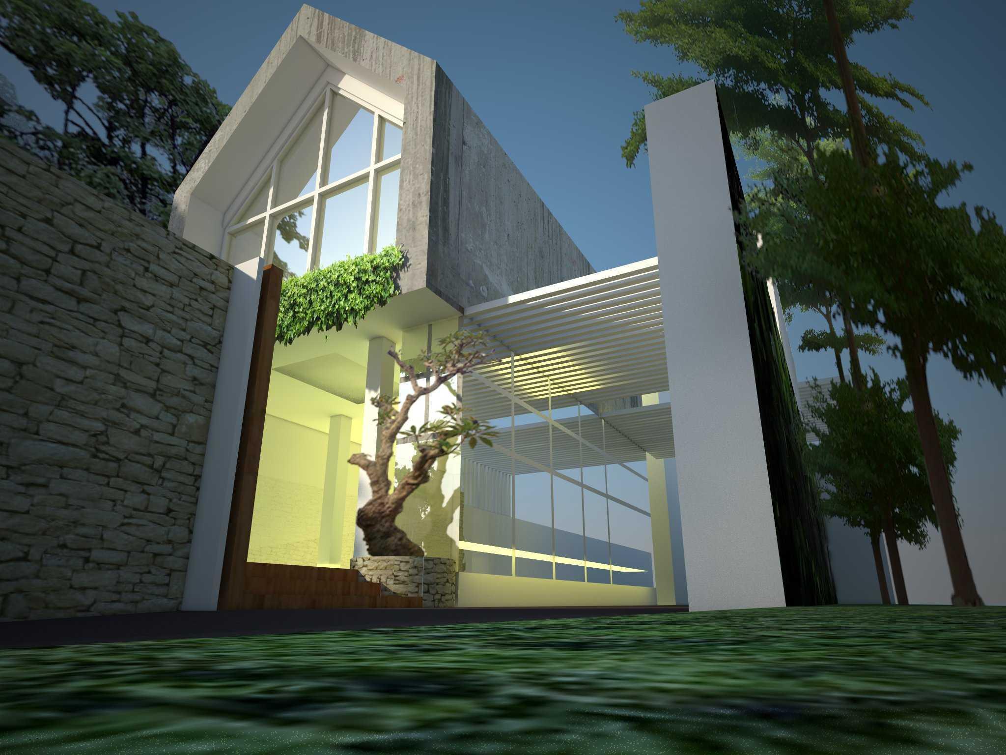 Aditya Wijaya / Studio Indirakasa Villaki Yogyakarta Yogyakarta Front Entrance Tropis  15698