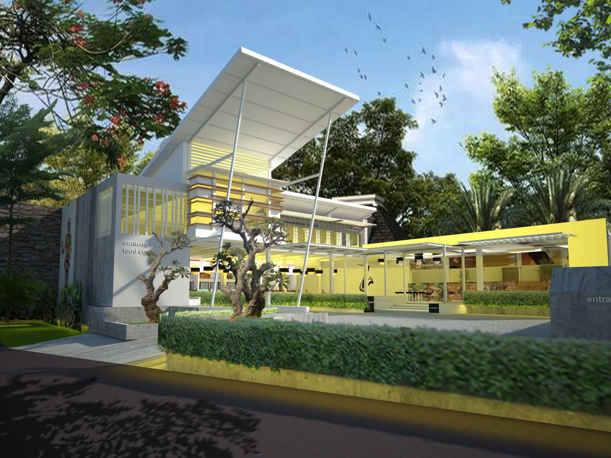 Aditya Wijaya / Studio Indirakasa Contemporer Food Court Temanggung Temanggung,jawa Tengah Temanggung,jawa Tengah Jadi-Tampak-Samping Kontemporer  19059