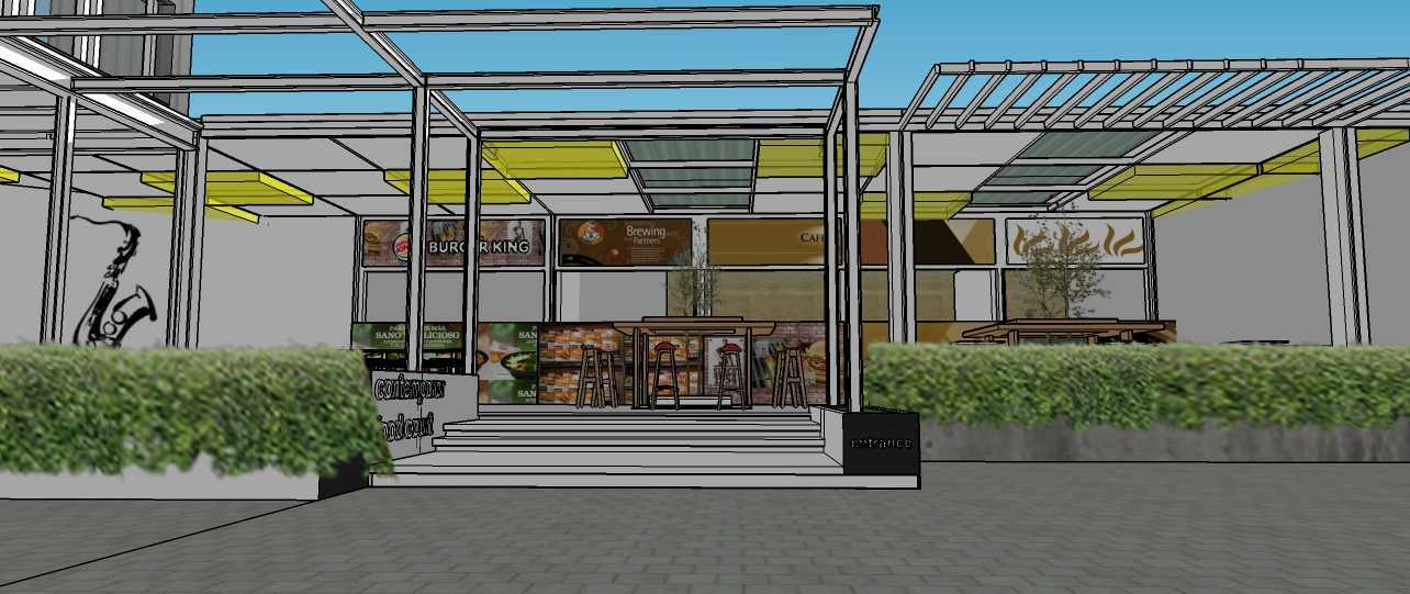 Aditya Wijaya / Studio Indirakasa Contemporer Food Court Temanggung Temanggung,jawa Tengah Temanggung,jawa Tengah Front View Kontemporer  19070