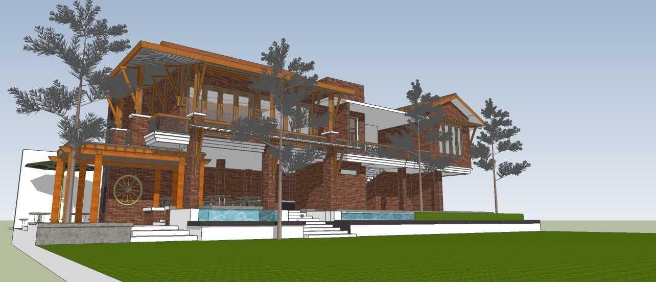Aditya Wijaya / Studio Indirakasa Opique House Bantul ,yogyakarta Bantul ,yogyakarta Side View   24992
