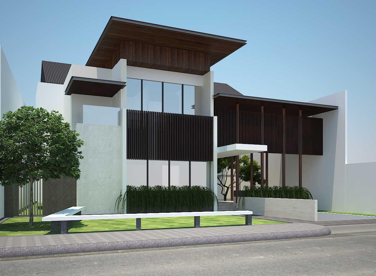Pt Alradista Desain Indonesia Kemang House Kemang Kemang Side View Modern  11145