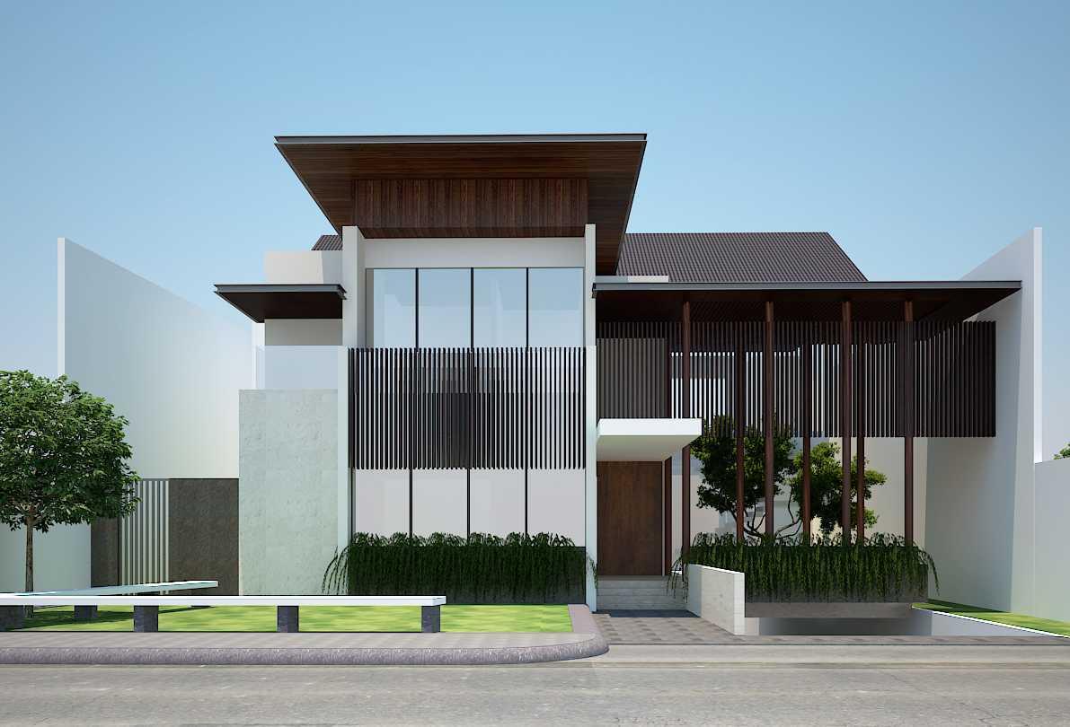 Pt Alradista Desain Indonesia Kemang House Kemang Kemang Front View Modern  11147