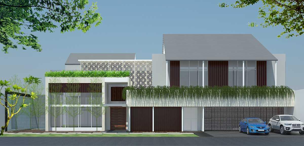 Pt Alradista Desain Indonesia H House Lipo Karawaci Lipo Karawaci Front View Modern  11790