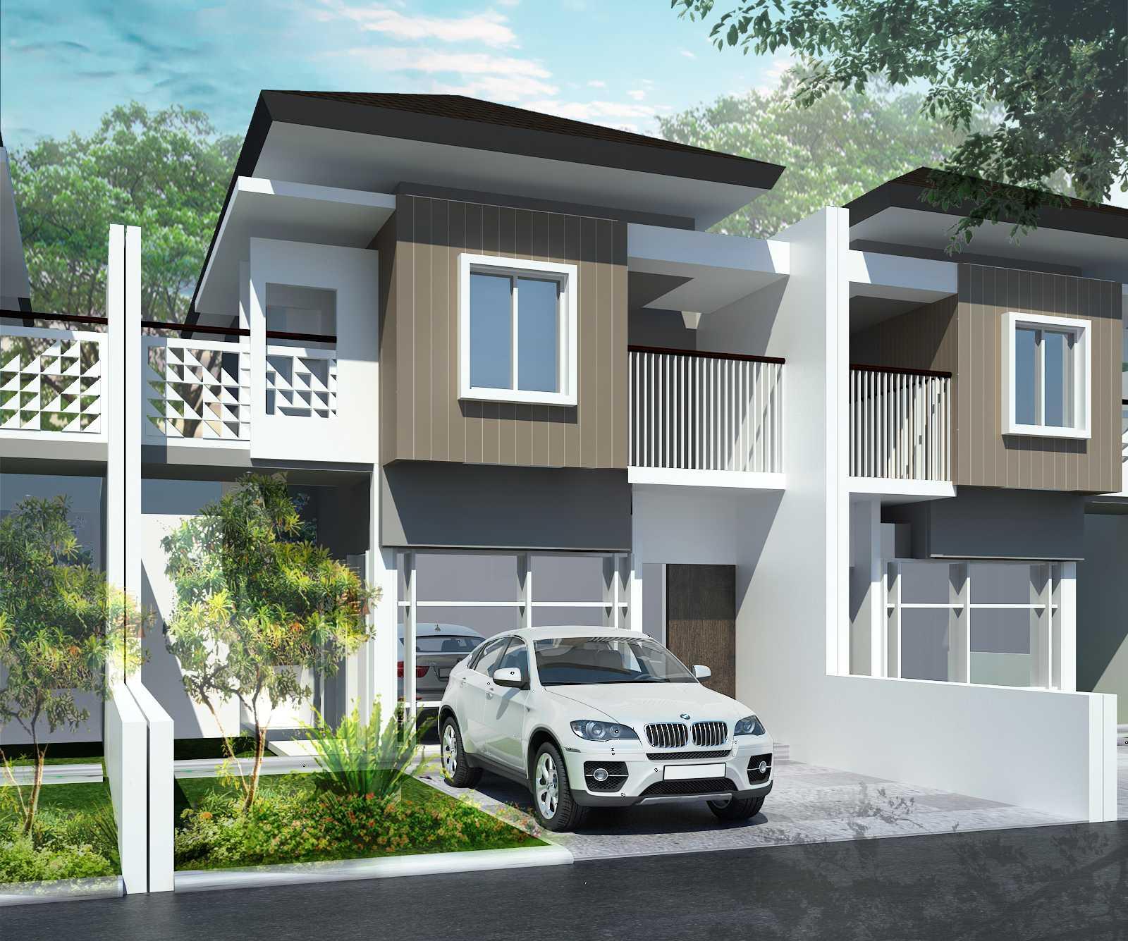 Pt Alradista Desain Indonesia Garden City Bandung Bandung Bandung Front View Modern  12920