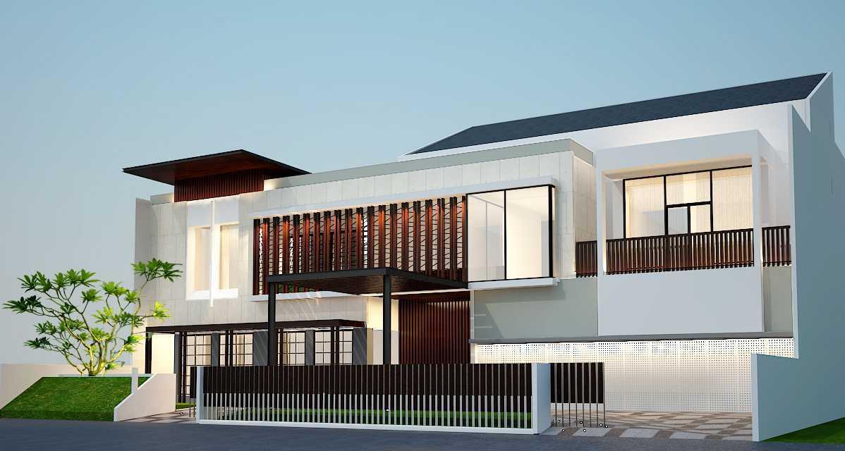 Pt Alradista Desain Indonesia T House Senayan, Jakarta Senayan, Jakarta Side View Modern  15206