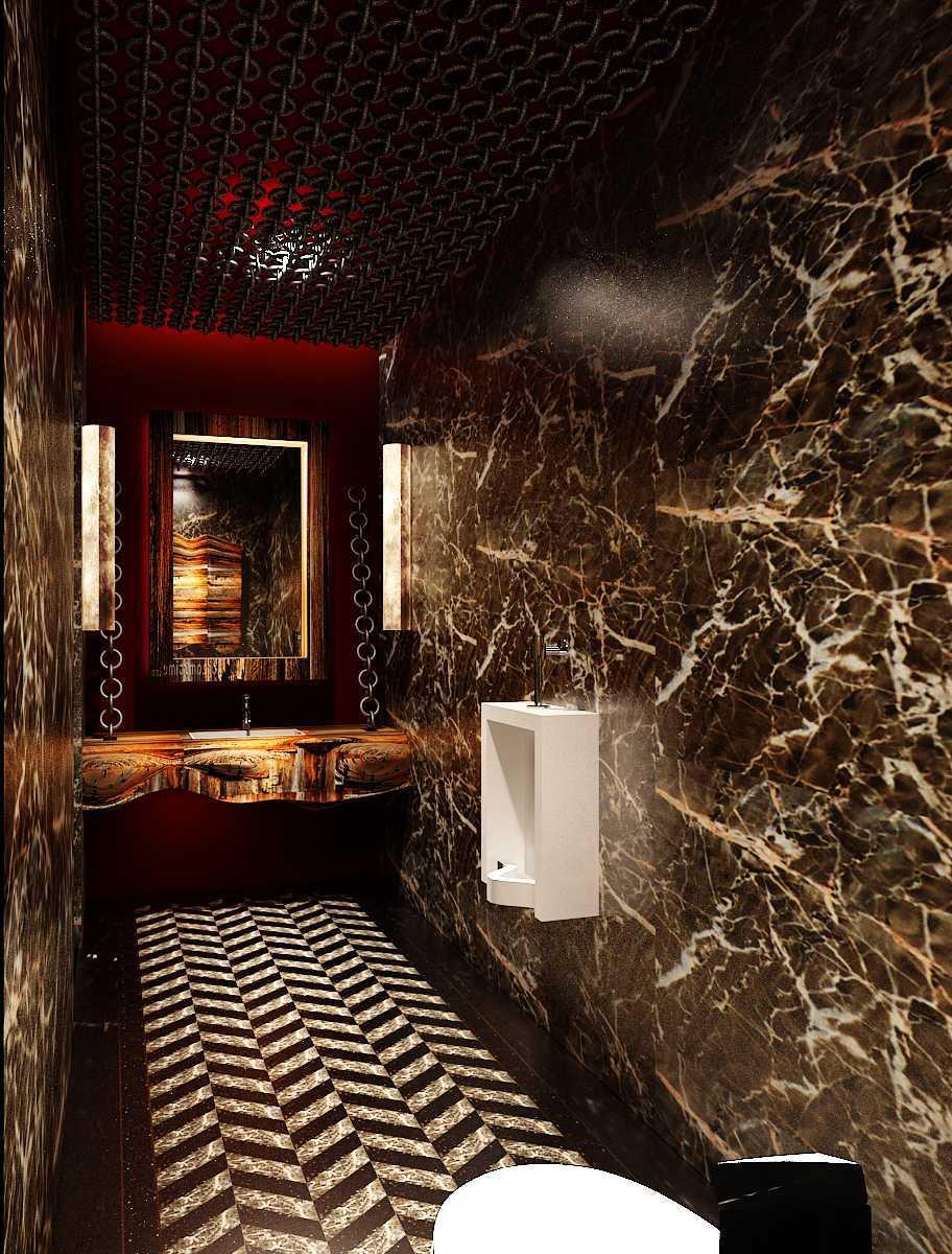Pt Alradista Desain Indonesia Camar Lounge Pantai Indah Kapuk Pantai Indah Kapuk Bathroom   24237