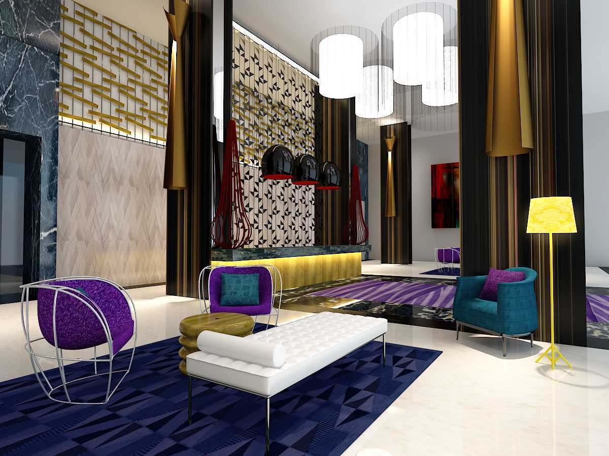 Alradistadesign Hotel & Apartment Kemang Jakarta Selatan, Kota Jakarta Selatan, Daerah Khusus Ibukota Jakarta, Indonesia  Lobby Modern  37940