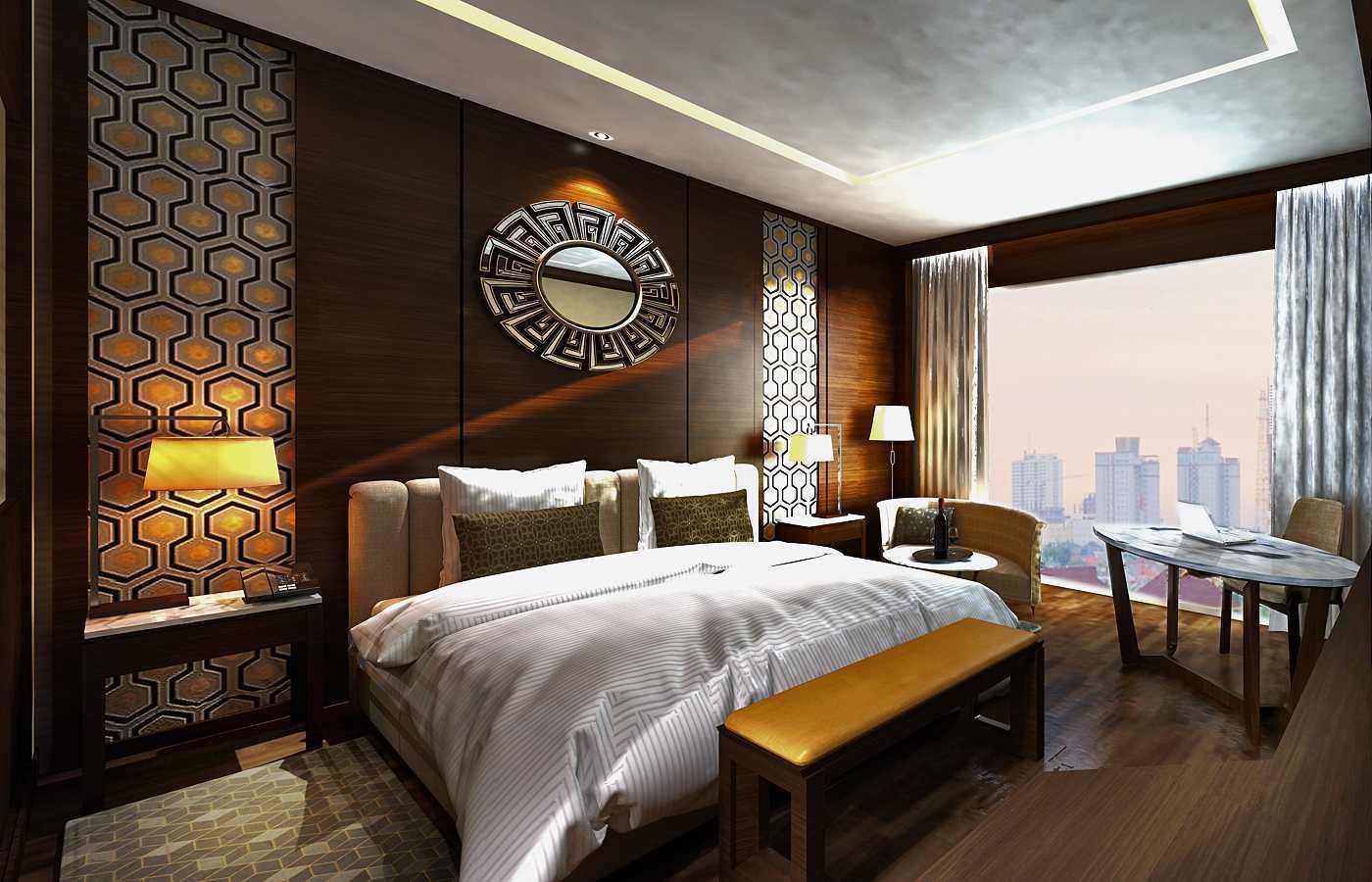 Rinto Katili, S.s.n, M.m Hotel Unit Surabaya Surabaya Hotel_Room Unit_View To Bedroom Kontemporer  29771