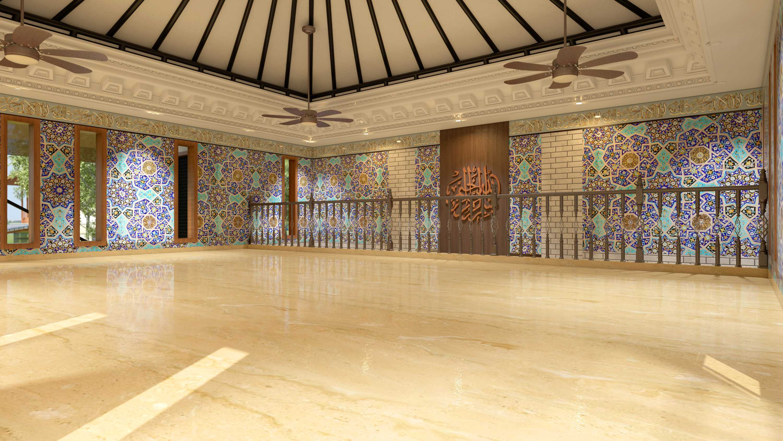 Rinto Katili, S.s.n, M.m Masjid  Al_Azhar 1   Interior-Masjid-Alazhar-1-View-1 Kontemporer  32623