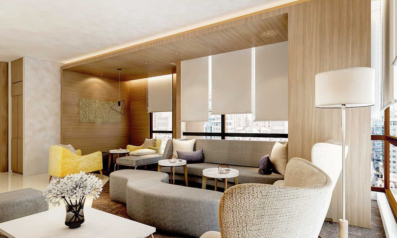 Rinto Katili Office Design Surabaya Surabaya, Surabaya City, East Java, Indonesia Surabaya, Surabaya City, East Java, Indonesia Meratus-Lounge-Office-3 Kontemporer  32696