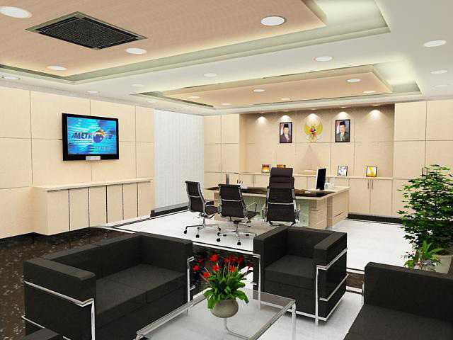 Rinto Katili General Manager Room At Pln Gambir Jakarta, Indonesia Jakarta, Indonesia Ruang-General-Managerpln-Gambir-2 Modern  33653