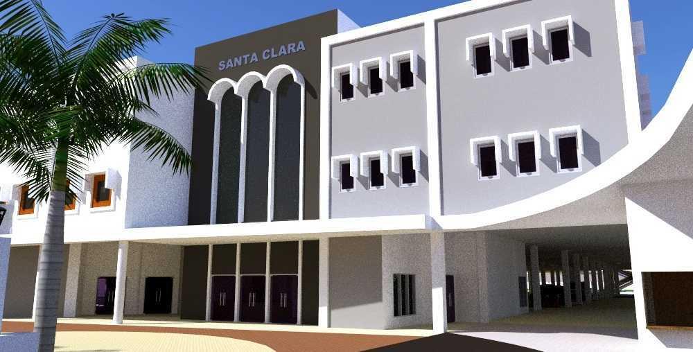 Eko Sulistiyono Desain Gereja Santa Clara Jalan Lingkar Utara, Perwira, Bekasi Utara, Kota Bks, Jawa Barat 17123, Indonesia Bekasi Utara Exterior   12629
