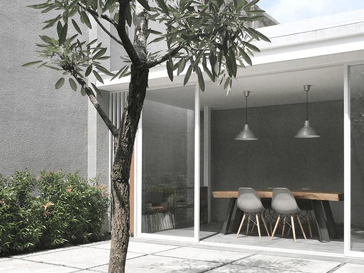 Adrian Eka E House Bali, Indonesia Bali, Indonesia Meeting Room Contemporary,scandinavian,skandinavia,kontemporer,industrial,modern  39647