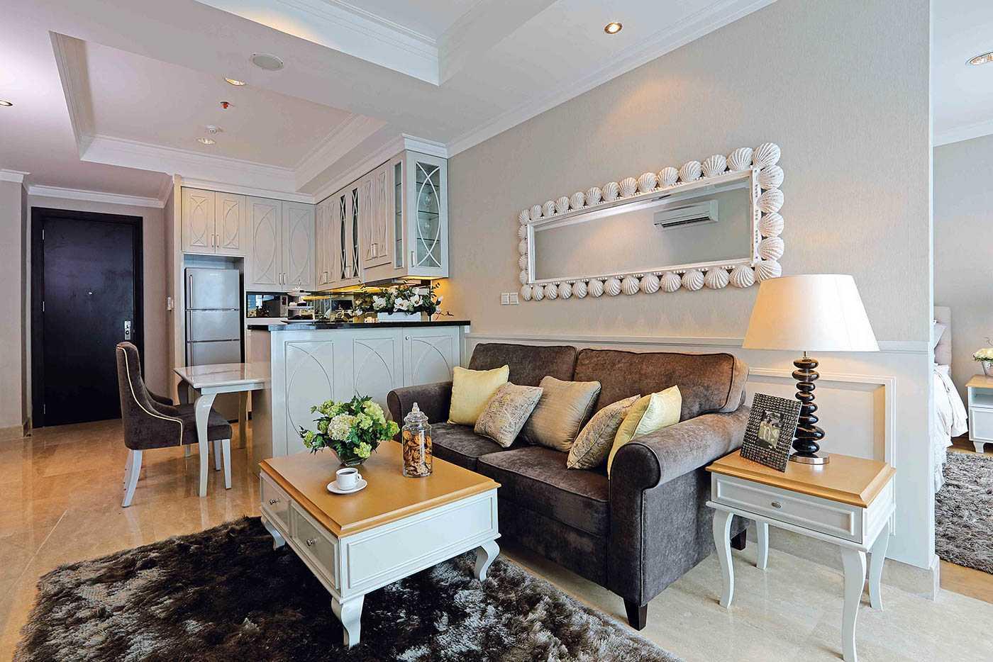 Yasinta Tri Wasiati Apartment Residence 8  Senopati Jakarta Jakarta Livingroom   12830
