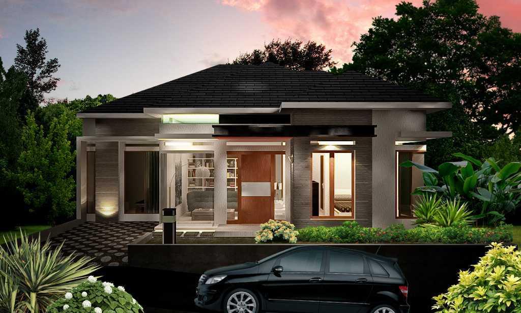 Axis Citra Pama / Axis&m Architects Ds House Sawahlunto, Sumatra Barat Sawahlunto, Sumatra Barat Tampak Depan Modren Tropis Tropis <P>Fasad Tampak Depan Bangunan</p> 14627