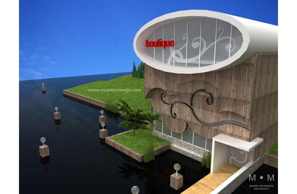 Mario Or Marjo (Mom) Architect Boutique House Jakarta, Daerah Khusus Ibukota Jakarta, Indonesia Jakarta, Daerah Khusus Ibukota Jakarta, Indonesia Boutique House - Front View Kontemporer  44475