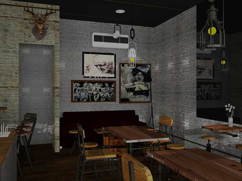 Ereck Bramoro Cafe Sandwich Malang, Indonesia Malang, Indonesia Dining Area Industrial,minimalis  18661