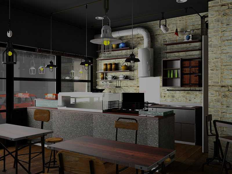 Ereck Bramoro Cafe Sandwich Malang, Indonesia Malang, Indonesia Pantry Industrial,minimalis  18663