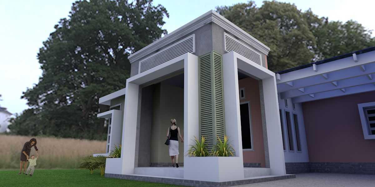 Oktavian Vicky Rantung Rumah Tinggal Tomohon Tomohon Front Terrace Tropis,minimalis  11542